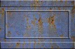 Textura oxidada del metal Foto de archivo libre de regalías