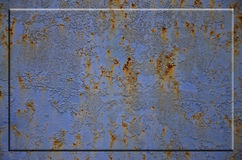 Textura oxidada del metal Imagen de archivo