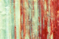 Textura oxidada del metal del hierro Foto de archivo libre de regalías