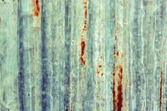 Textura oxidada del metal del hierro Fotos de archivo