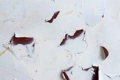 Textura oxidada del metal Mancha, hierro rojo y blanco de la superficie foto de archivo libre de regalías