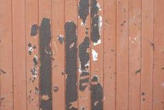 Textura oxidada del metal Mancha, hierro rojo y blanco de la superficie foto de archivo