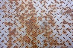 Textura oxidada del suelo del metal Foto de archivo