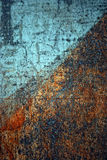 Textura oxidada do grunge Imagens de Stock