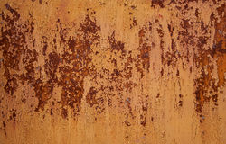 Textura oxidada do metal Fotos de Stock