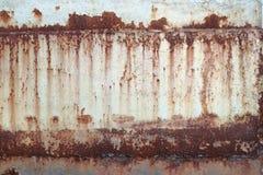 Textura oxidada do metal Fotos de Stock Royalty Free