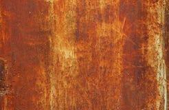 Textura oxidada do metal Fotografia de Stock Royalty Free
