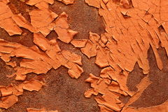 Textura oxidada do metal Fotografia de Stock