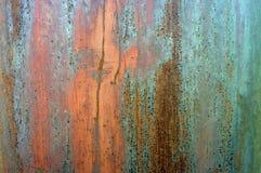 Textura oxidada do metal de Grunge Imagens de Stock Royalty Free