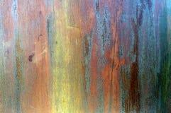 Textura oxidada do metal de Grunge imagem de stock