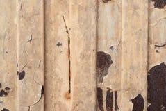 Textura oxidada do metal Mancha, ferro vermelho e branco da superfície imagem de stock royalty free