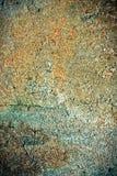 Textura oxidada do muro de cimento Fotografia de Stock