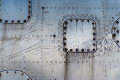 Textura oxidada envejecida del metal Fotografía de archivo libre de regalías