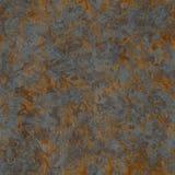 Textura oxidada inconsútil del metal Fotografía de archivo