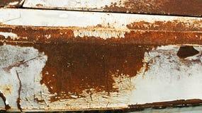 Textura oxidada na placa de metal imagens de stock royalty free
