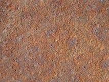 Textura oxidada velha da superfície de metal Fotografia de Stock Royalty Free