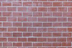 Textura pálida do fundo da parede de tijolo vermelho imagens de stock