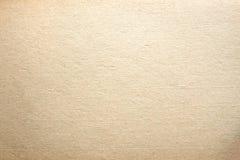 Textura pálida - fundo de papel obsoleto da cor amarela Fotos de Stock