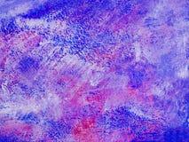 Textura púrpura de la pintura detrás molida Imágenes de archivo libres de regalías