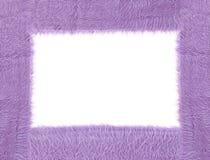 Textura púrpura de la tela Foto de archivo libre de regalías