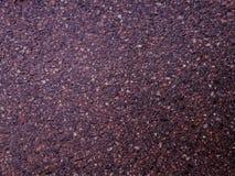 Textura púrpura del recubrimiento de paredes en el edificio fotografía de archivo