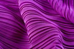 Textura púrpura rosada de la tela Fotos de archivo