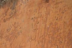 Textura - pared de la terracota del edificio viejo foto de archivo