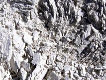 Textura partida del detalle de la roca foto de archivo libre de regalías