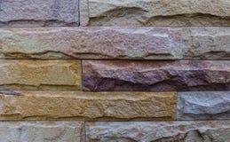 Textura pastel ou fundo do tijolo Imagens de Stock Royalty Free