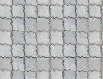 Textura pavimentada concreta Foto de Stock Royalty Free