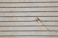Textura pavimentada concreta Fotografía de archivo libre de regalías