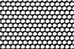 Textura pequena da grade do orador com fundo branco Fotos de Stock