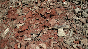 Textura pequena das pedras Fotografia de Stock