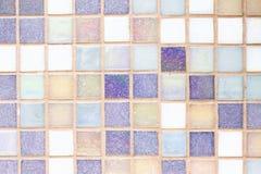 Textura pequena das telhas Foto de Stock Royalty Free