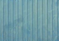 Textura pintada azules marinos de la cerca del metal Imagen de archivo