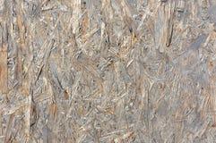 Textura pintada blanco del panel del panel de fibras de madera Foto de archivo