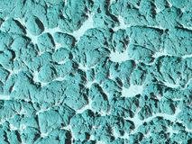 Textura pintada colorida de la superficie en la pared Foto de archivo libre de regalías