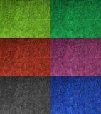Textura pintada de la pared en colores vivos Foto de archivo libre de regalías