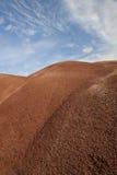 Textura pintada de las colinas Imagen de archivo libre de regalías