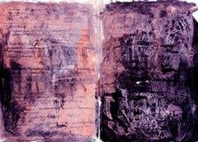 Textura pintada Grunge Imagem de Stock