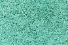 Textura pintada verde da parede Imagem de Stock