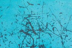 Textura plástica azul de la fibra Fotografía de archivo libre de regalías