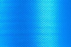 Textura plástica azul para el fondo Imagen de archivo
