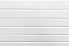 Textura plástica blanca de los paneles Foto de archivo libre de regalías