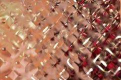Textura plástica de la botella Imagen de archivo