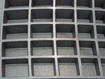 Textura plástica del rectángulo, industrial, Fotos de archivo libres de regalías