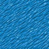 Textura plástica líquida abstrata azul Imagens de Stock