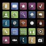 Textura plana 2 del icono imagen de archivo
