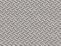 Textura plateada acero del metal Foto de archivo libre de regalías
