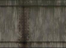 Textura plateada de metal del remache natural imagen de archivo